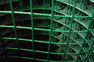 Зелёная сварная сетка