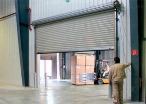 Рулонные ворота на складе