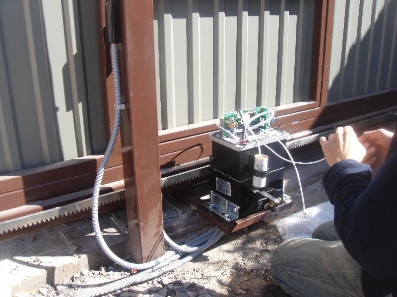 Блок управления привода ворот.