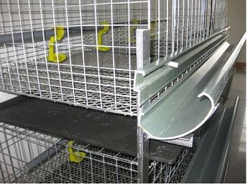 Клетка для кур из сварной сетки.