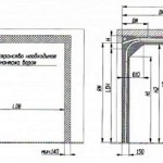 Схема монтажа секционных ворот.