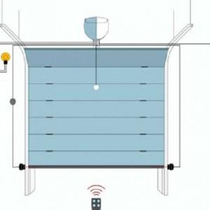 Схема потолочного привода.