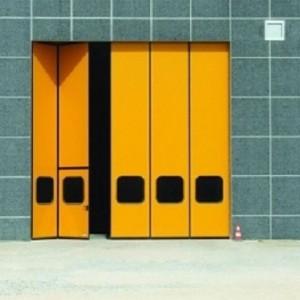 Складные ворота «гармошка».