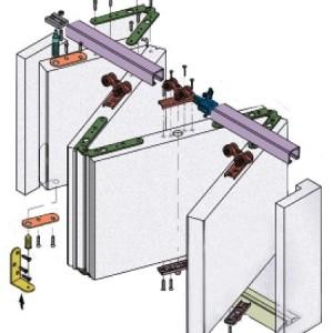 Схема промышленной «гармошки».